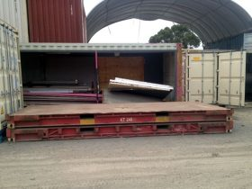 20ft Flat Rack Transport Containers