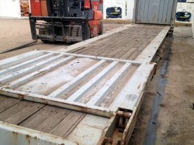 40ft Flat Rack Transport Container