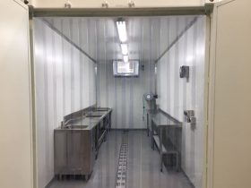 Cold Storage Container modification