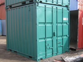 Green 10ft Shipping Container