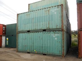 Unpainted 20ft Shipping Container