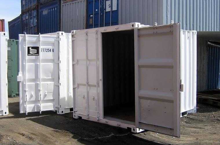 Used 10ft Insulated Shipping Container