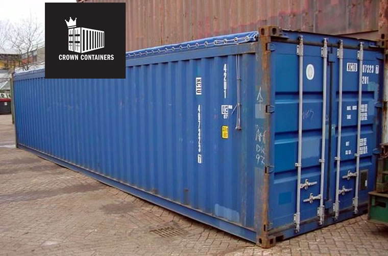 Used 40ft Open Top Shipping Container