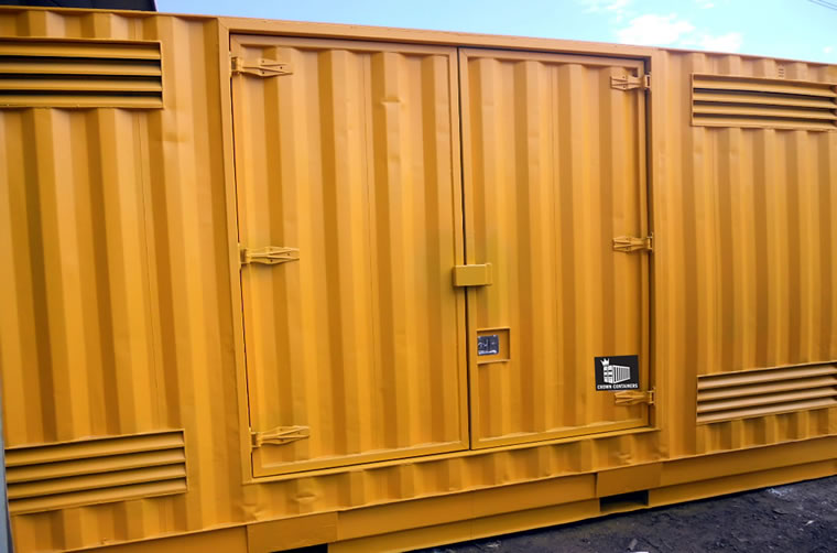 Used DG Side Doors Container