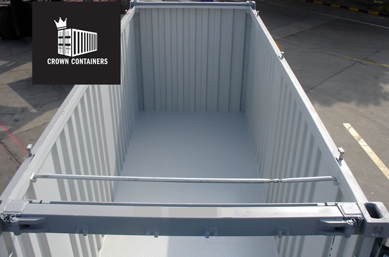 Open Top Container For Hire