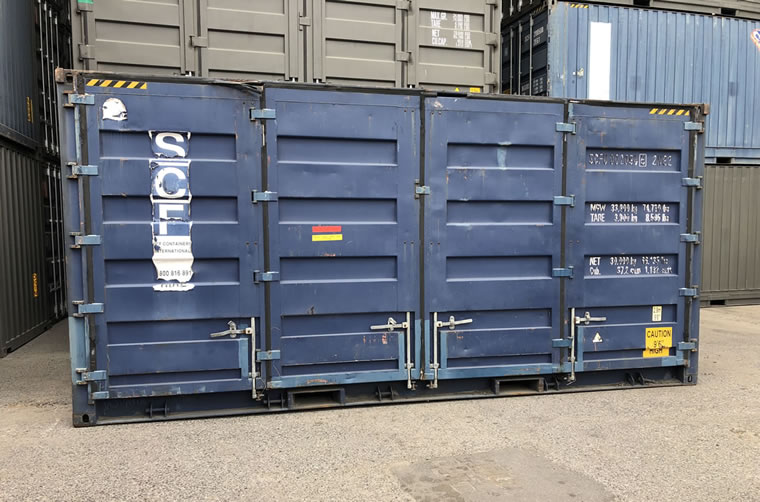Side Door Container Hire