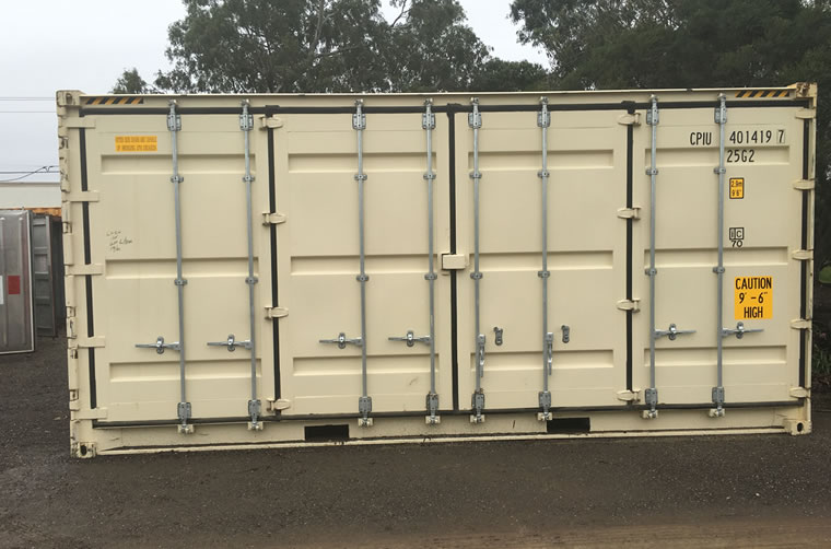 20ft Side Doors Container Hire