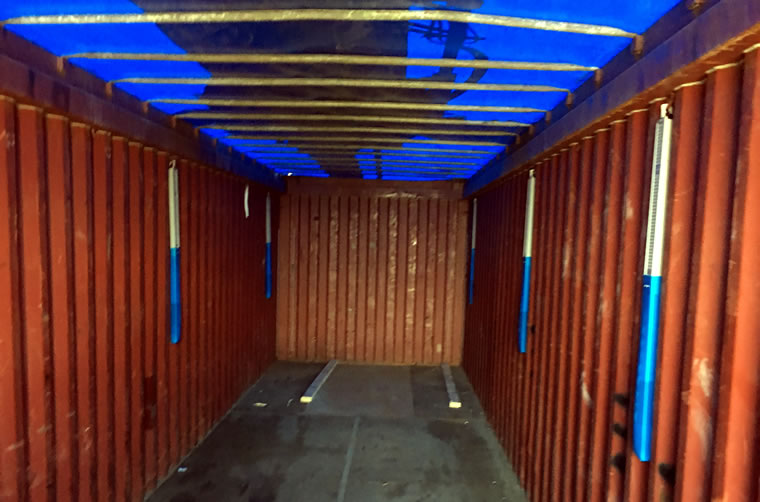 Used 40ft Open Top Container Hire