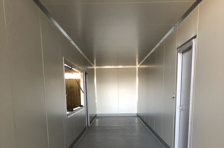 Shipping Container Insulation
