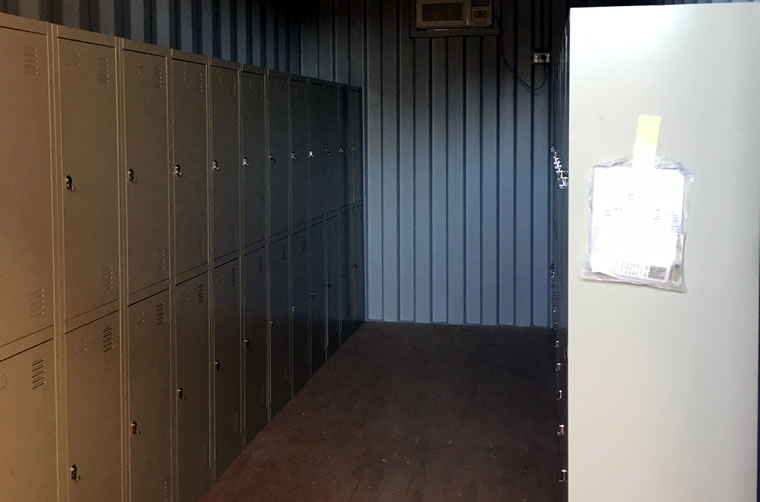 Shipping Container Lockers