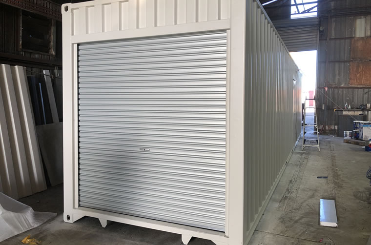 Shipping Container Roller Doors