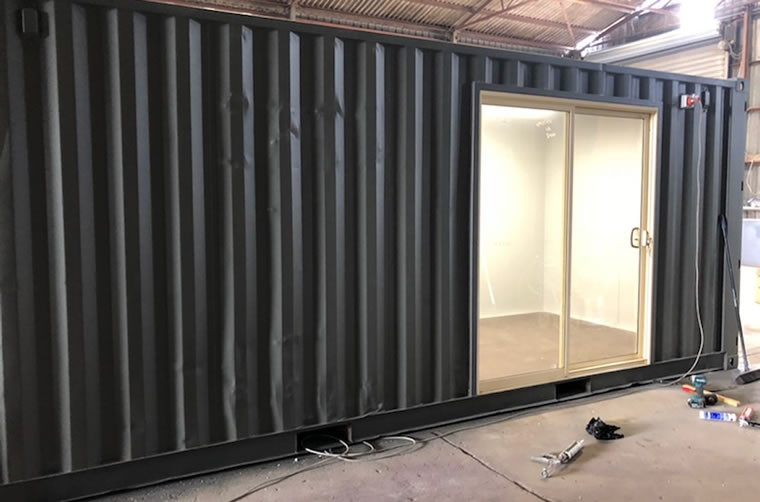 Shipping Container Sliding Doors