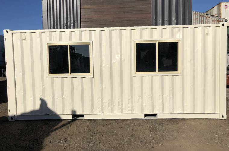 Shipping Container Sliding Windows