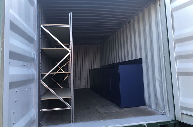 Shipping Container Workbench Melbourne